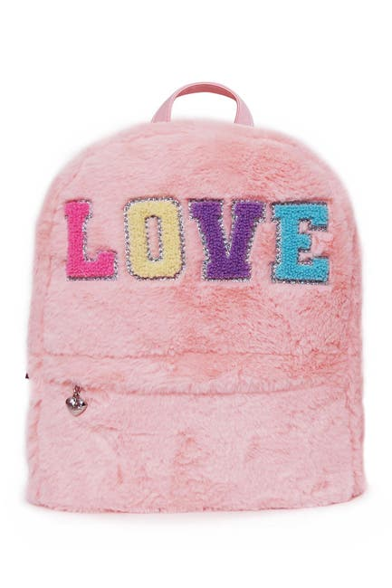 Image of OMG! Accessories Love Plush Mini Backpack
