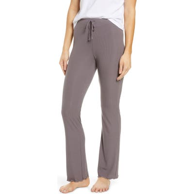 Tommy John Second Skin Rib Pajama Pants, Grey