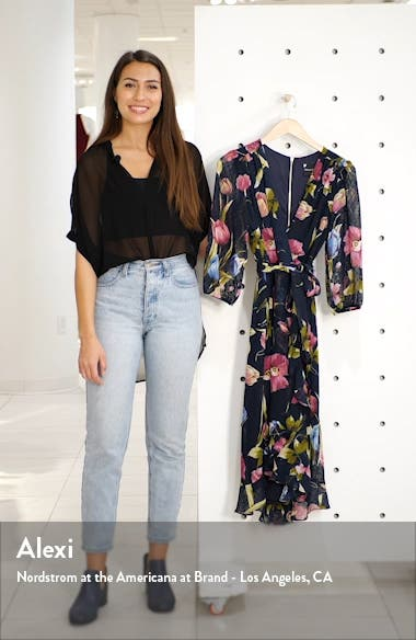 Minnie Floral Dot Jacquard Dress, sales video thumbnail