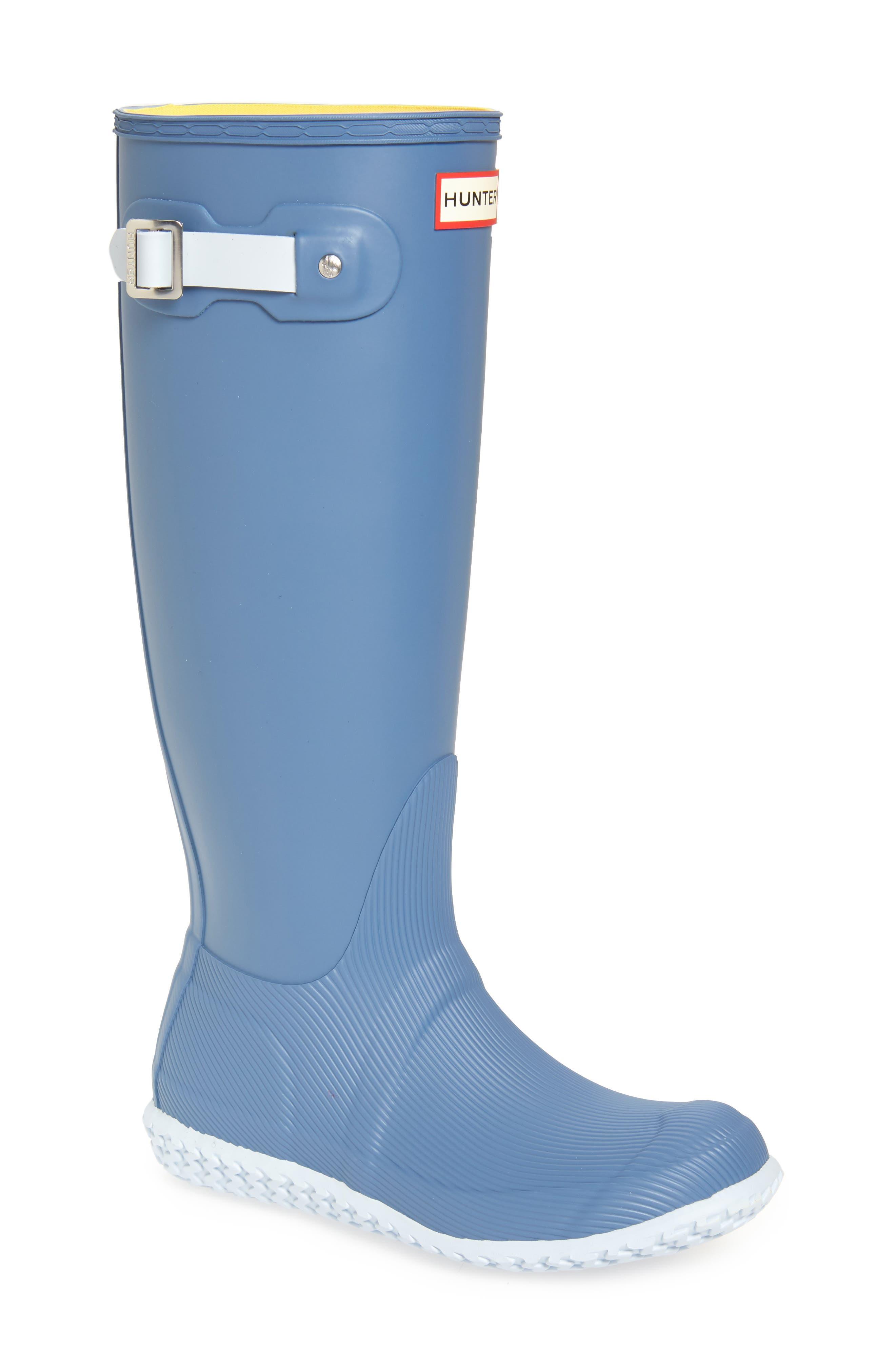 Image of Hunter Original Tall Calendar Sole Rain Boot
