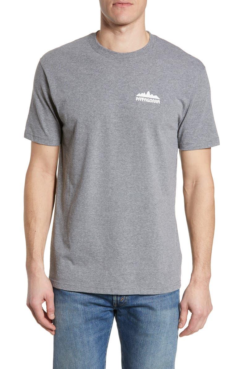 PATAGONIA Partyledge Responsibili-Tee T-Shirt, Main, color, GRAVEL HEATHER