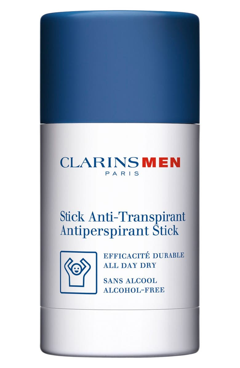 CLARINS Men Antiperspirant Deodorant Stick, Main, color, NO COLOR