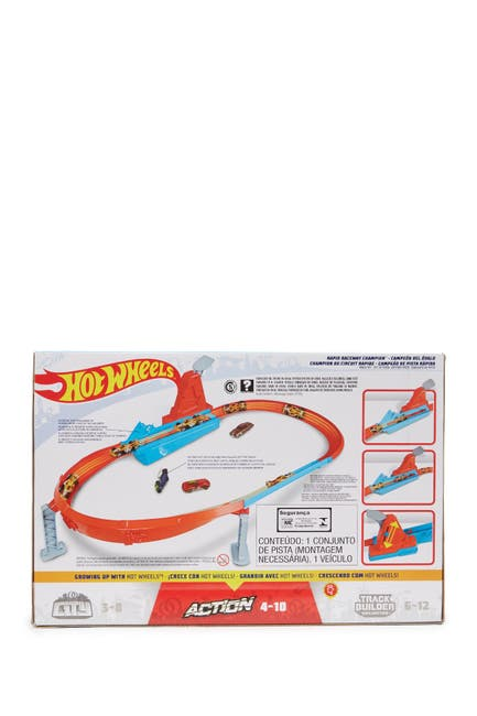 Image of Mattel Hot Wheels Action Rapid Raceway Champion - Style May Vary