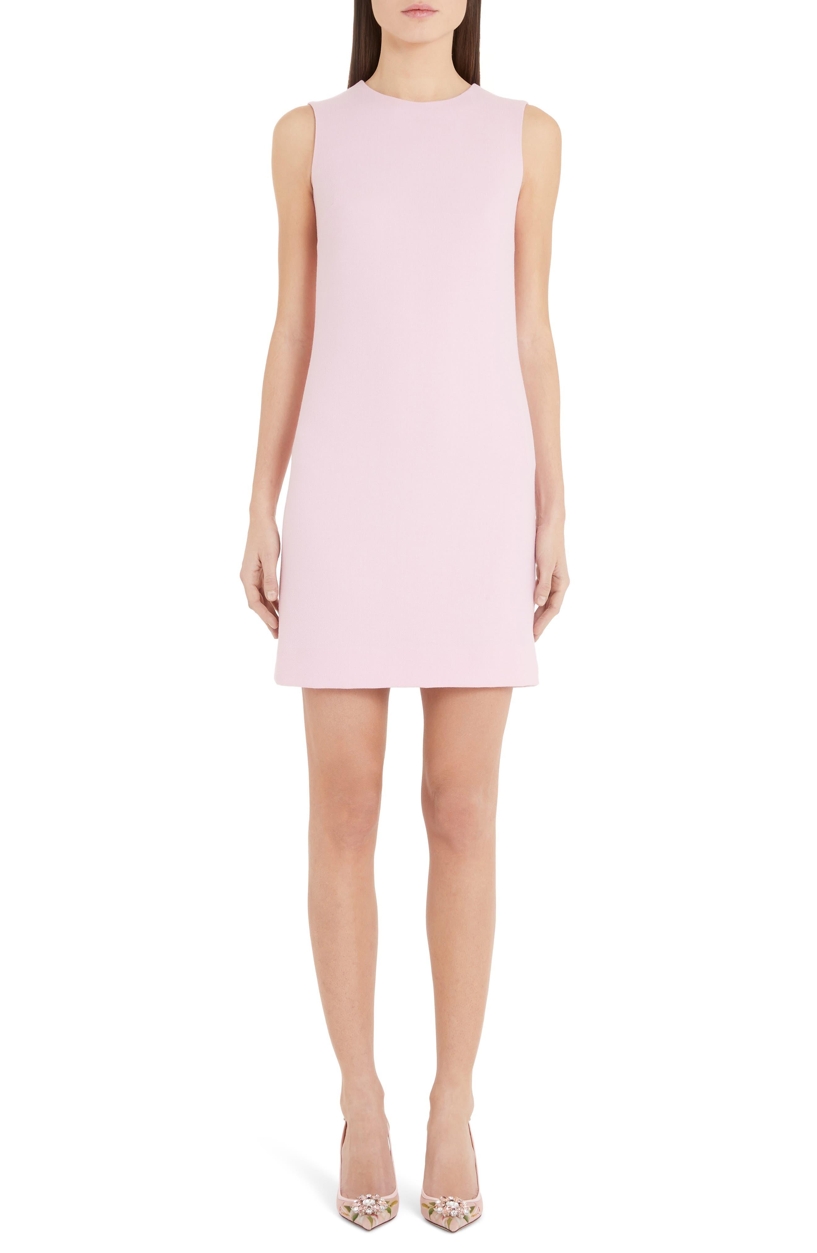 Dolce & gabbana Sheath Dress, US / 40 IT - Pink