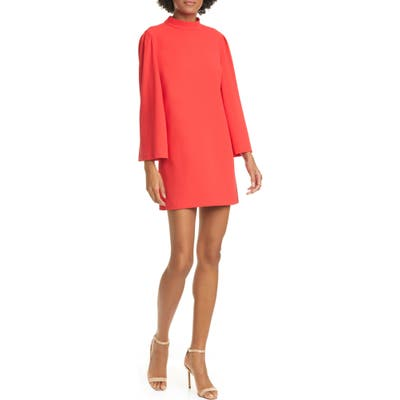 Alice + Olivia Bailey Long Sleeve Dress, Red