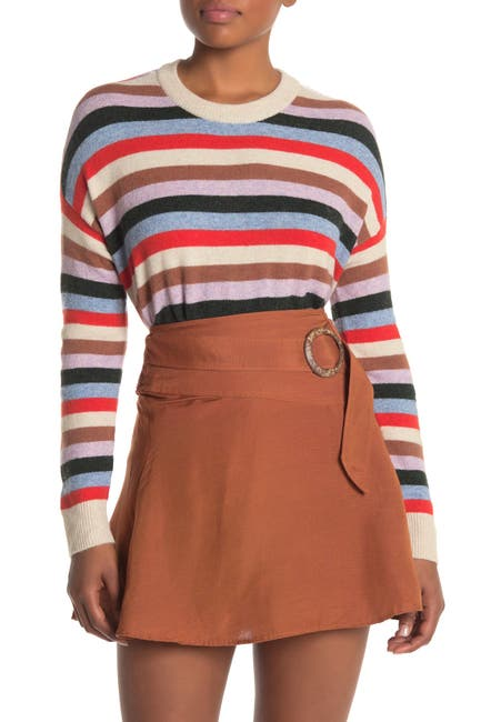 Image of Madewell Striped James Pullover Sweater