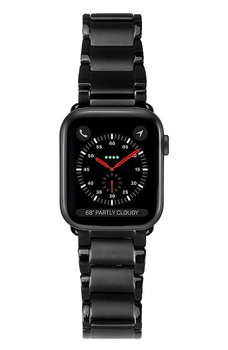 CASETIFY Metal Link Apple Watch<sup>®</sup> Bracelet Strap, Main, color, BLACK