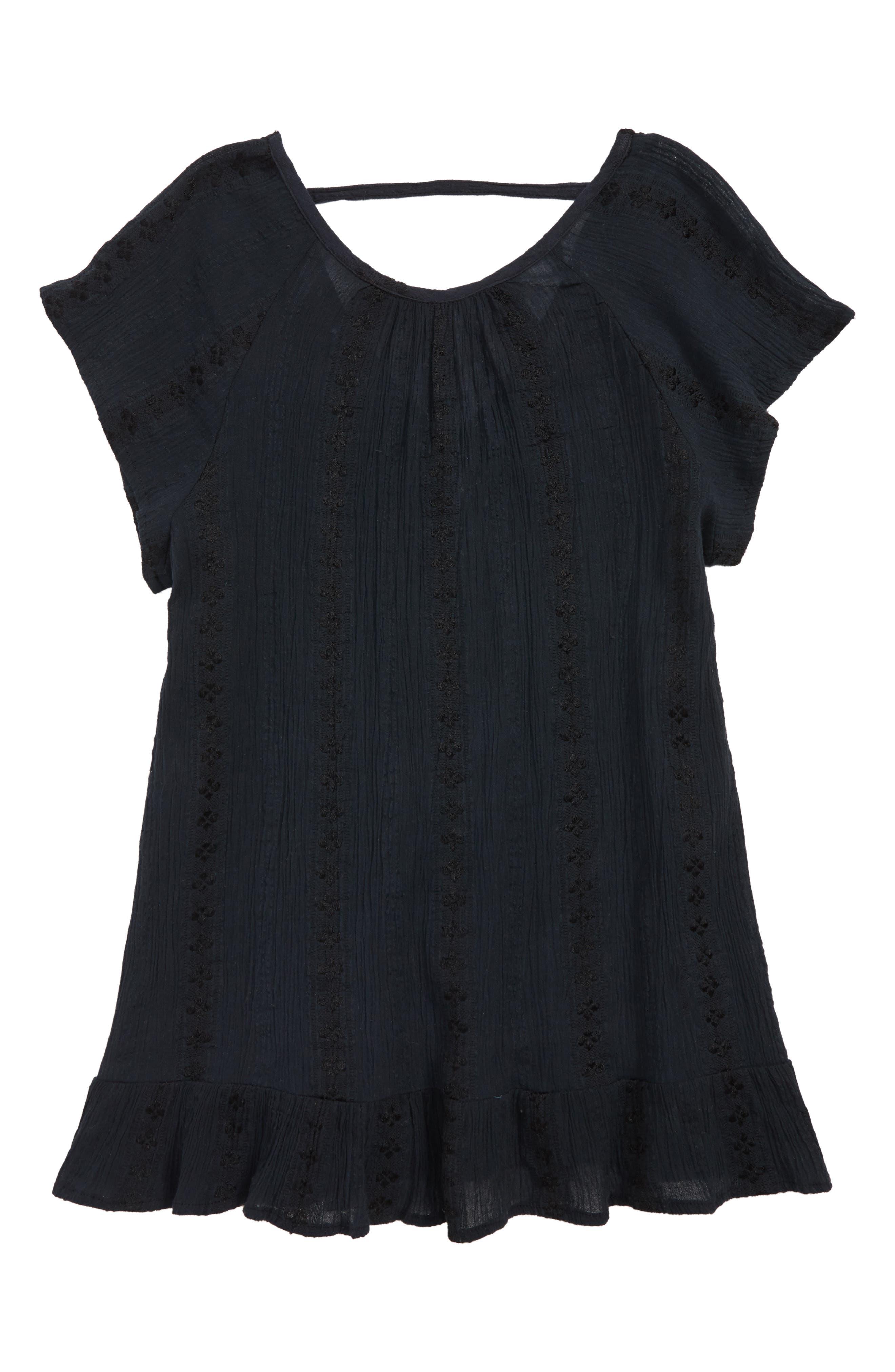 ,                             Andrea Cover-Up Dress,                             Main thumbnail 4, color,                             001