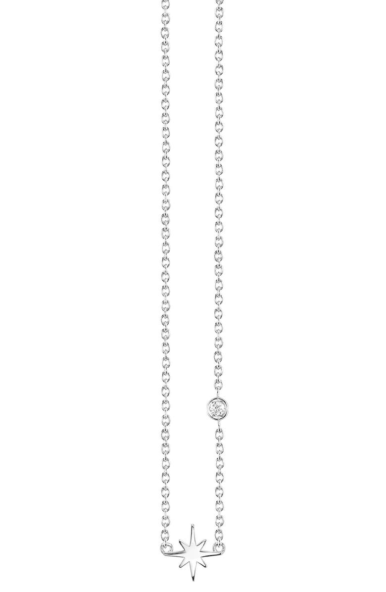 Syd By Sydney Evan Starburst Diamond Necklace
