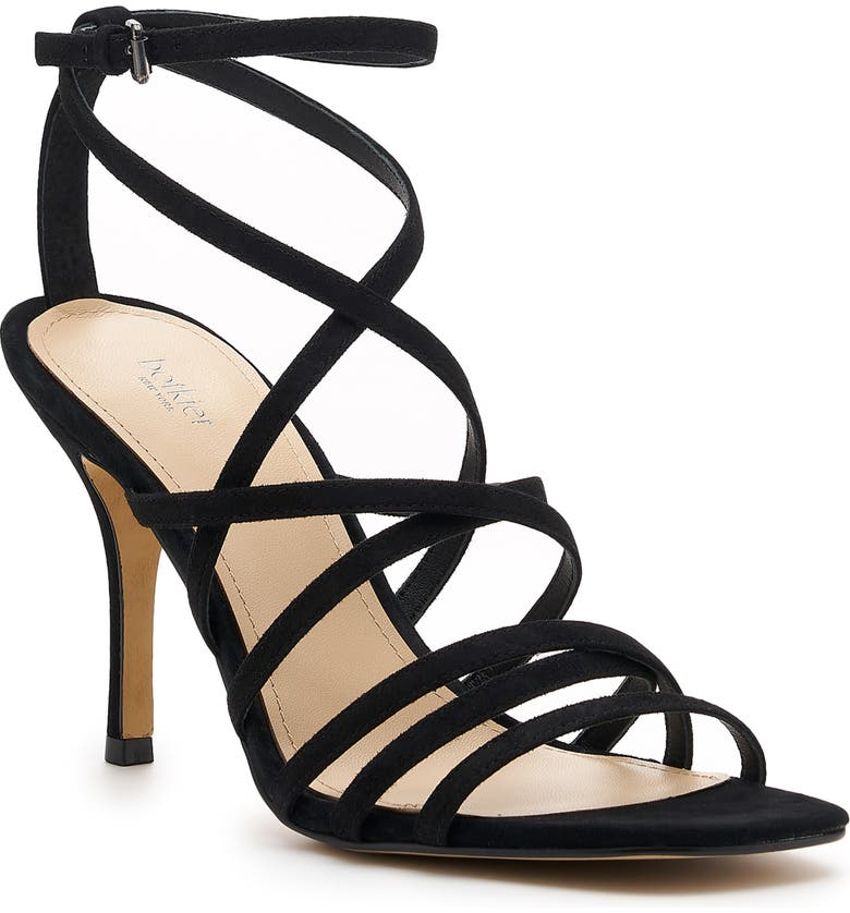BOTKIER Lorain Strappy Sandal, Main, color, BLACK SUEDE