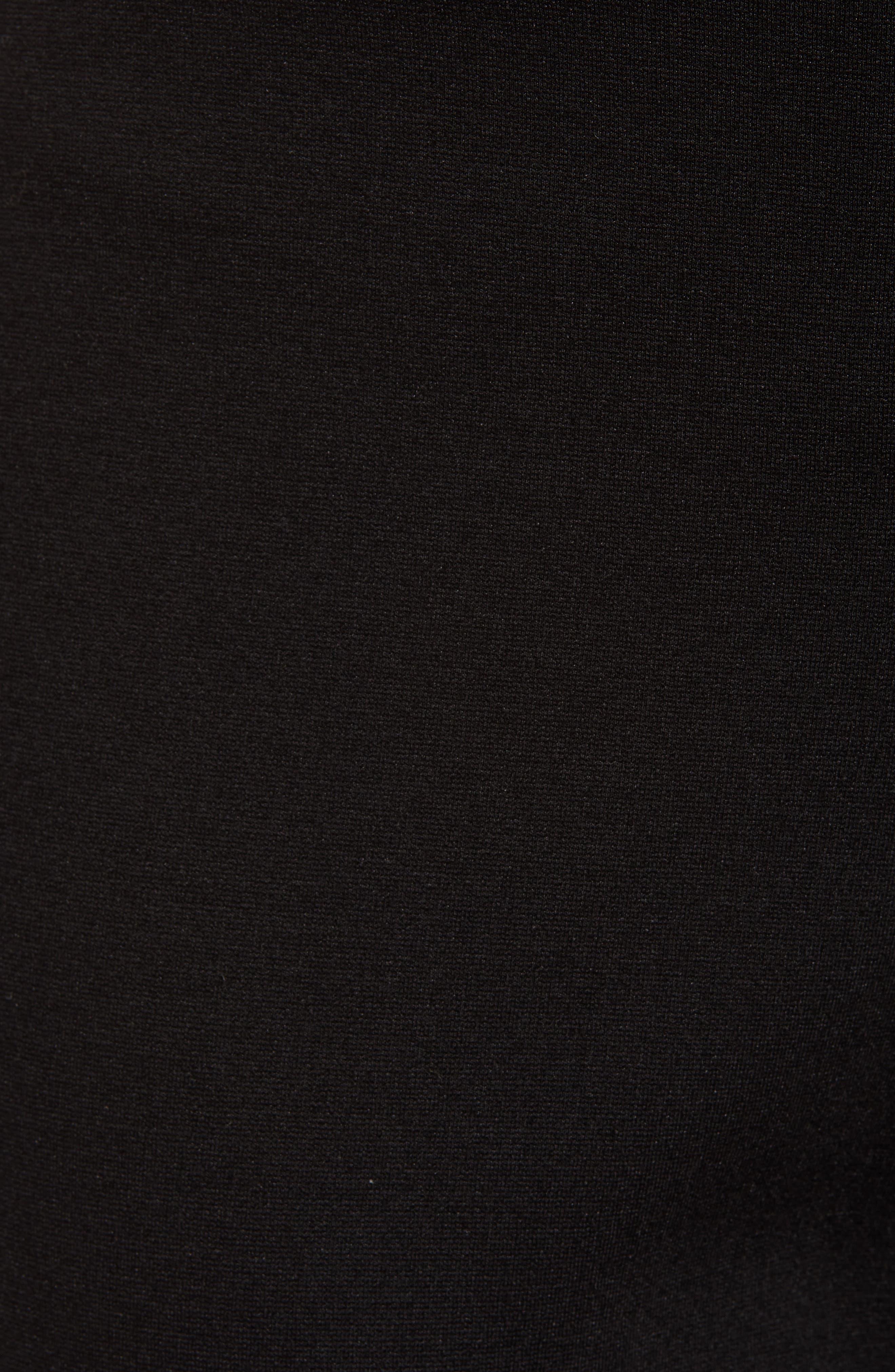 ,                             Ponte Ankle Pants,                             Alternate thumbnail 7, color,                             BLACK