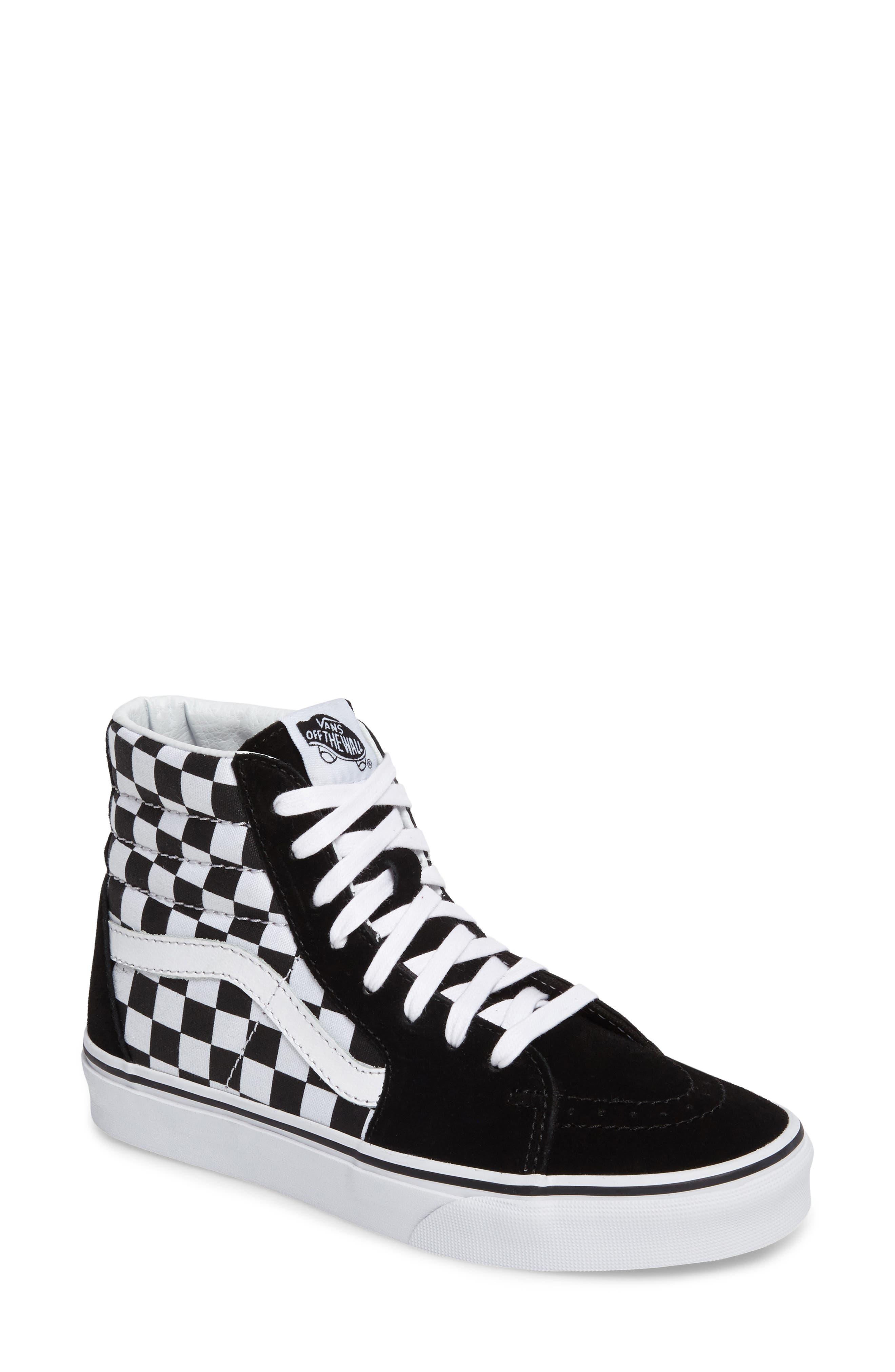,                             Sk8-Hi Checker Sneaker,                             Main thumbnail 29, color,                             002