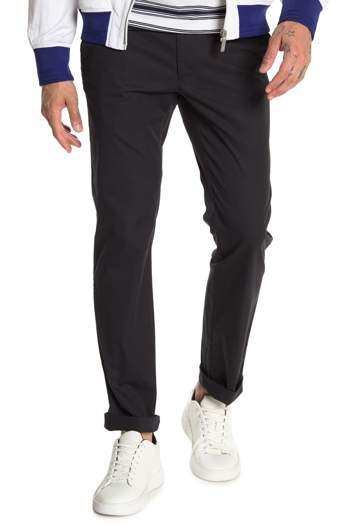 Image of Cole Haan Flat Front Pants