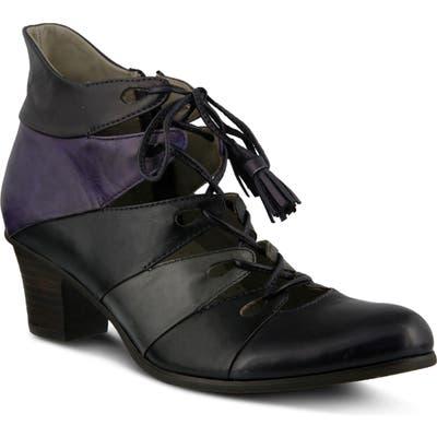 Spring Step Estrela Ghillie Bootie, Purple