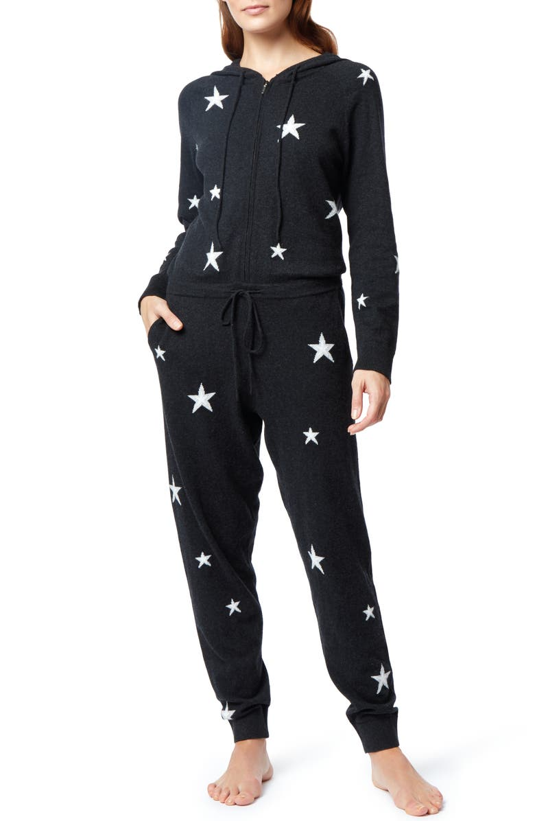 THE WHITE COMPANY Star Pattern One-Piece Lounge Set, Main, color, 020
