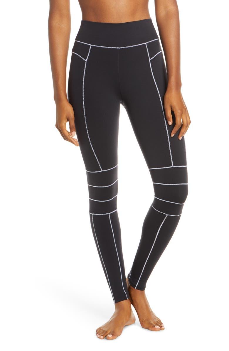ALO Endurance High Waist Leggings, Main, color, BLACK
