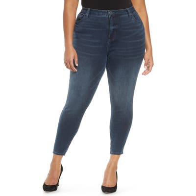 Plus Size Kut From The Kloth Donna High Waist Ankle Skinny Jeans, Blue