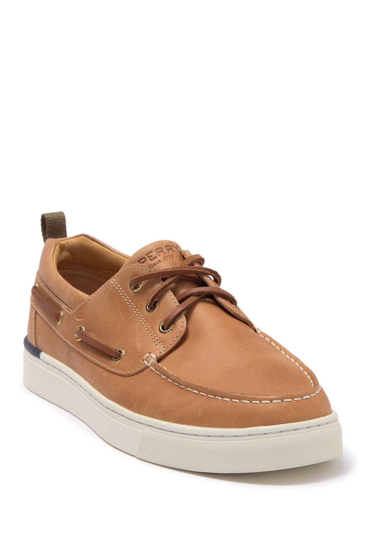 Image of Sperry Gold Cup Victura 3-Eyelet Leather Sneaker