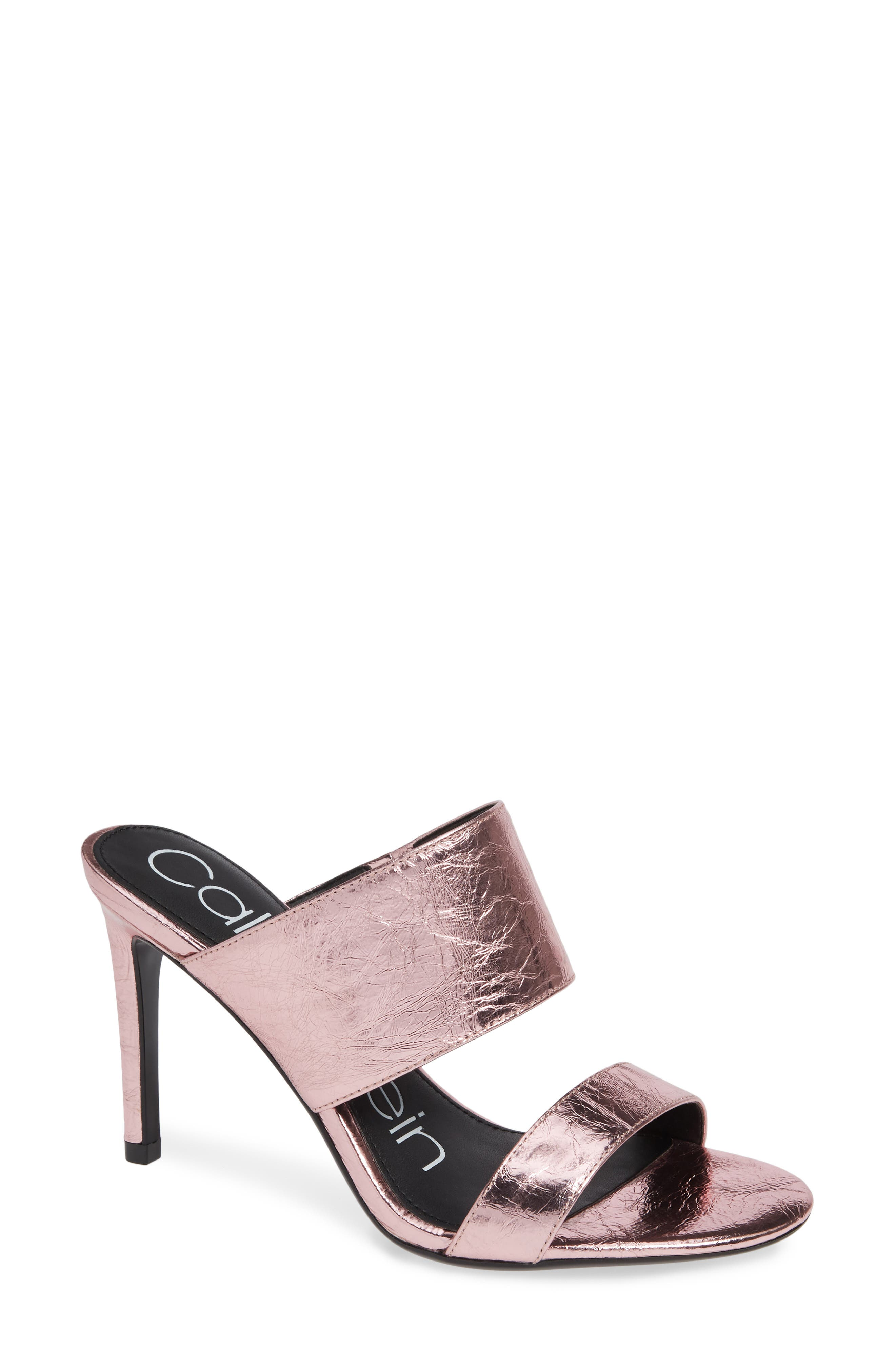 Calvin Klein Rema Slide Sandal, Pink