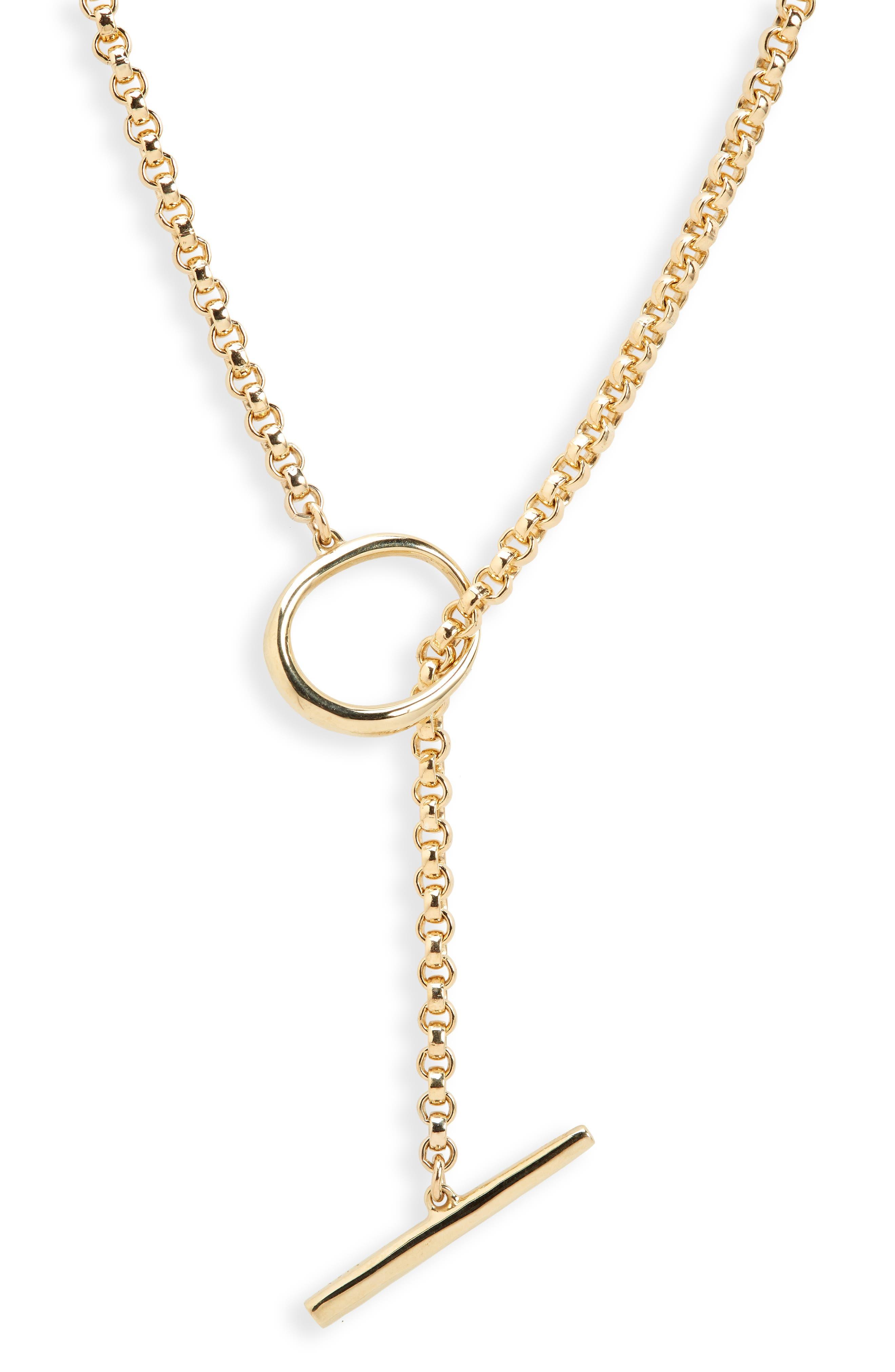 Anka Toggle Necklace