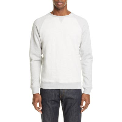 Norse Projects Ketel Contrast Sweatshirt, Grey