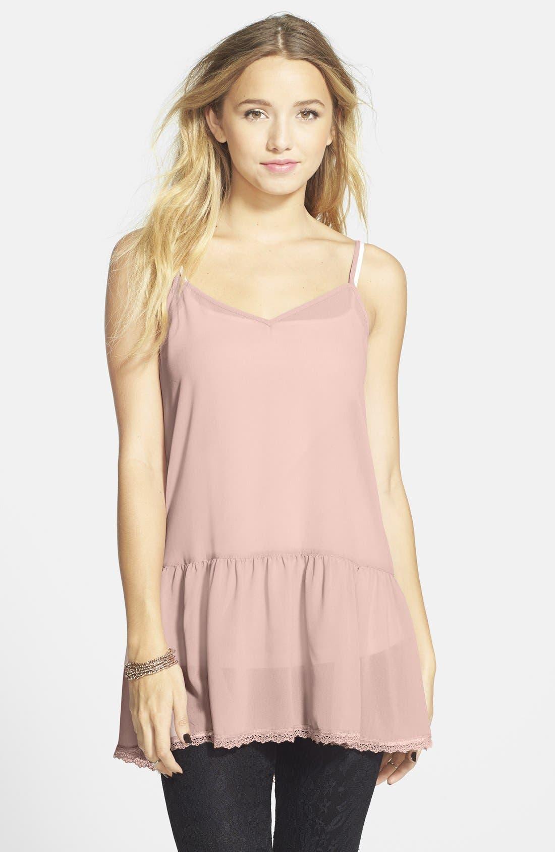 ,                             <sup>®</sup> Lace Hem Camisole,                             Main thumbnail 7, color,                             651