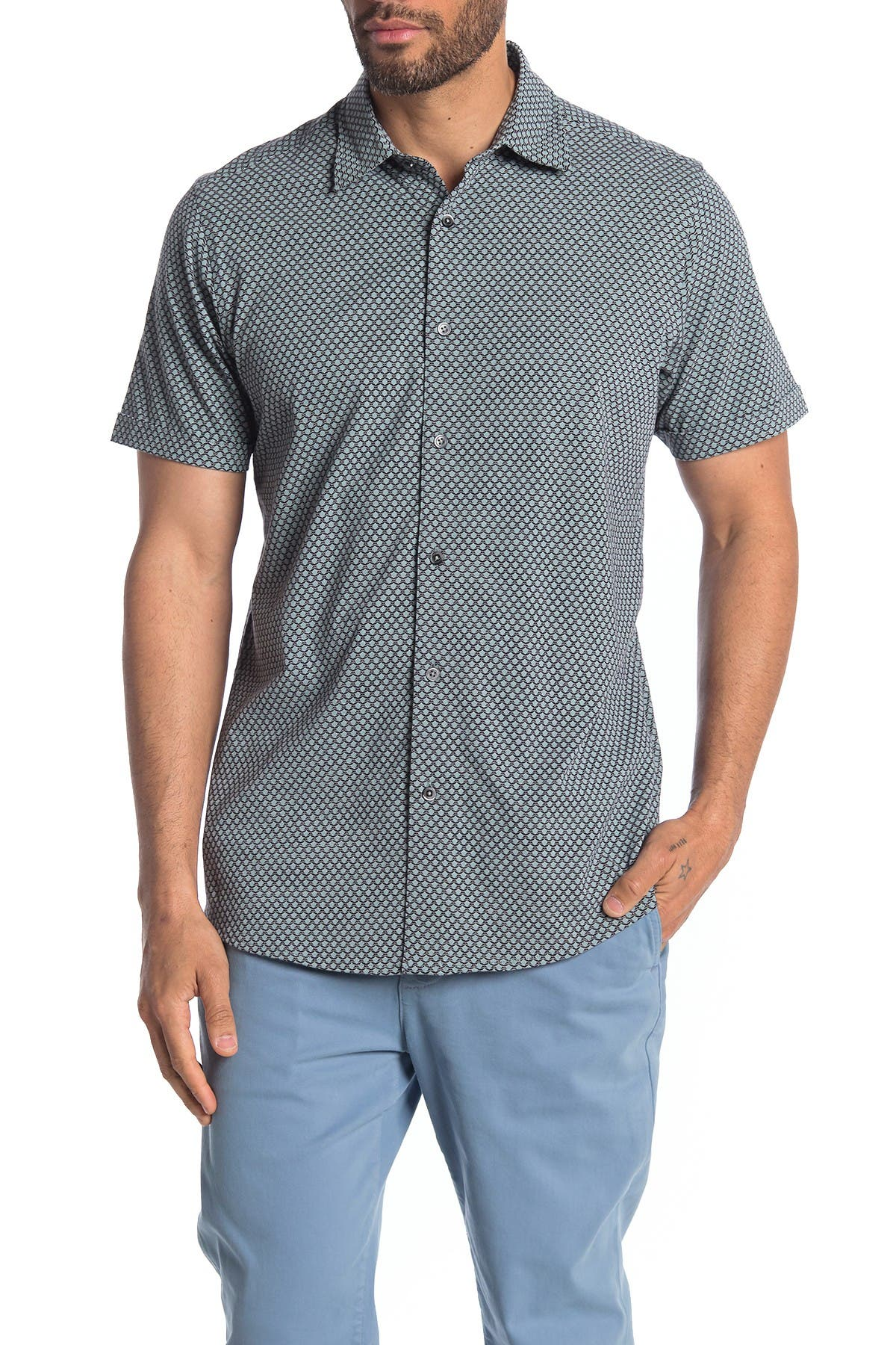 Image of COASTAORO Diamonte Short Sleeve Jersey Shirt