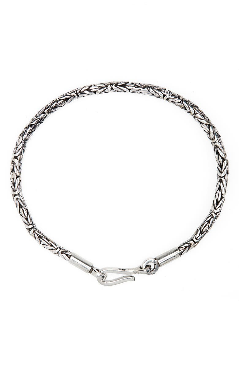 CAPUTO & CO. Java Chain Bracelet, Main, color, SILVER