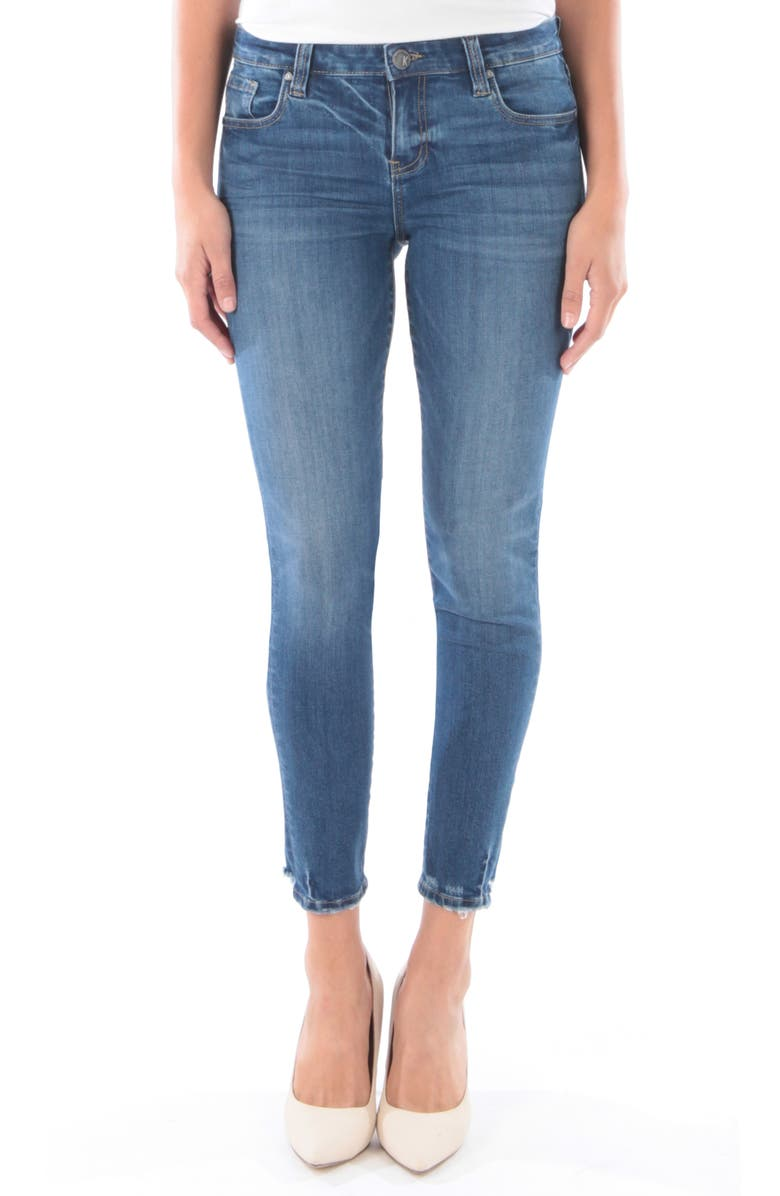 KUT FROM THE KLOTH Donna Ankle Skinny Jeans, Main, color, FINDING W/ MEDIUM BASE WASH
