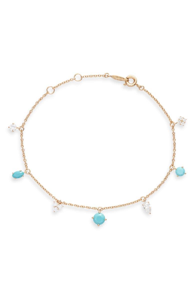 NADRI Gobi Line Bracelet, Main, color, GOLD