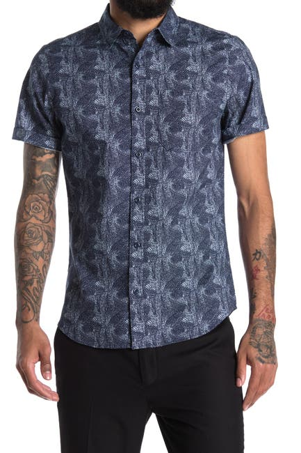 Image of Abound Mini Print Regular Fit Shirt