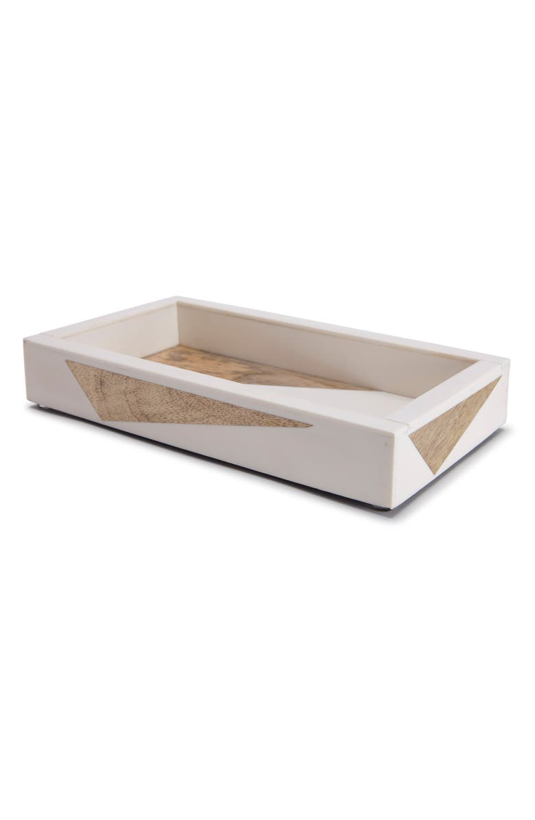 KASSATEX Tahoe Tray, Main, color, WHITE