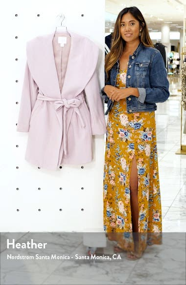 Belted Wrap Coat, sales video thumbnail