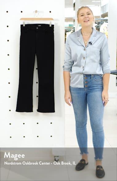 Transcend - Colette Crop Flare Jeans, sales video thumbnail