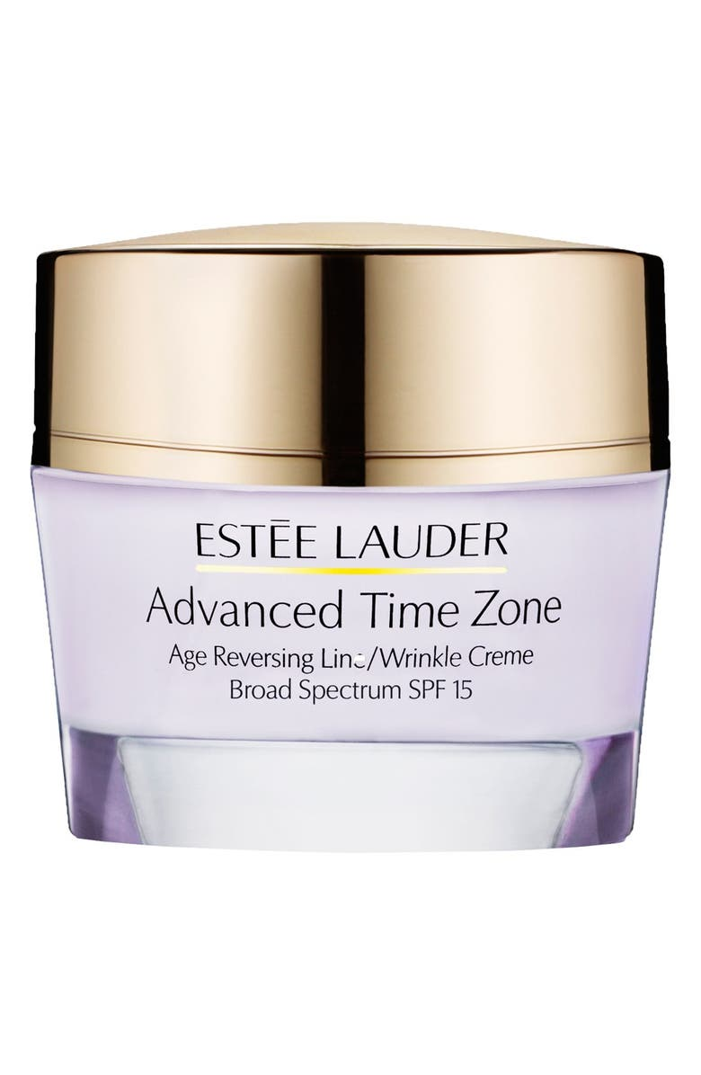 ESTÉE LAUDER Advanced Time Zone Age Reversing Line/Wrinkle Creme Broad Spectrum SPF 15, Main, color, NORMAL COMBINATION