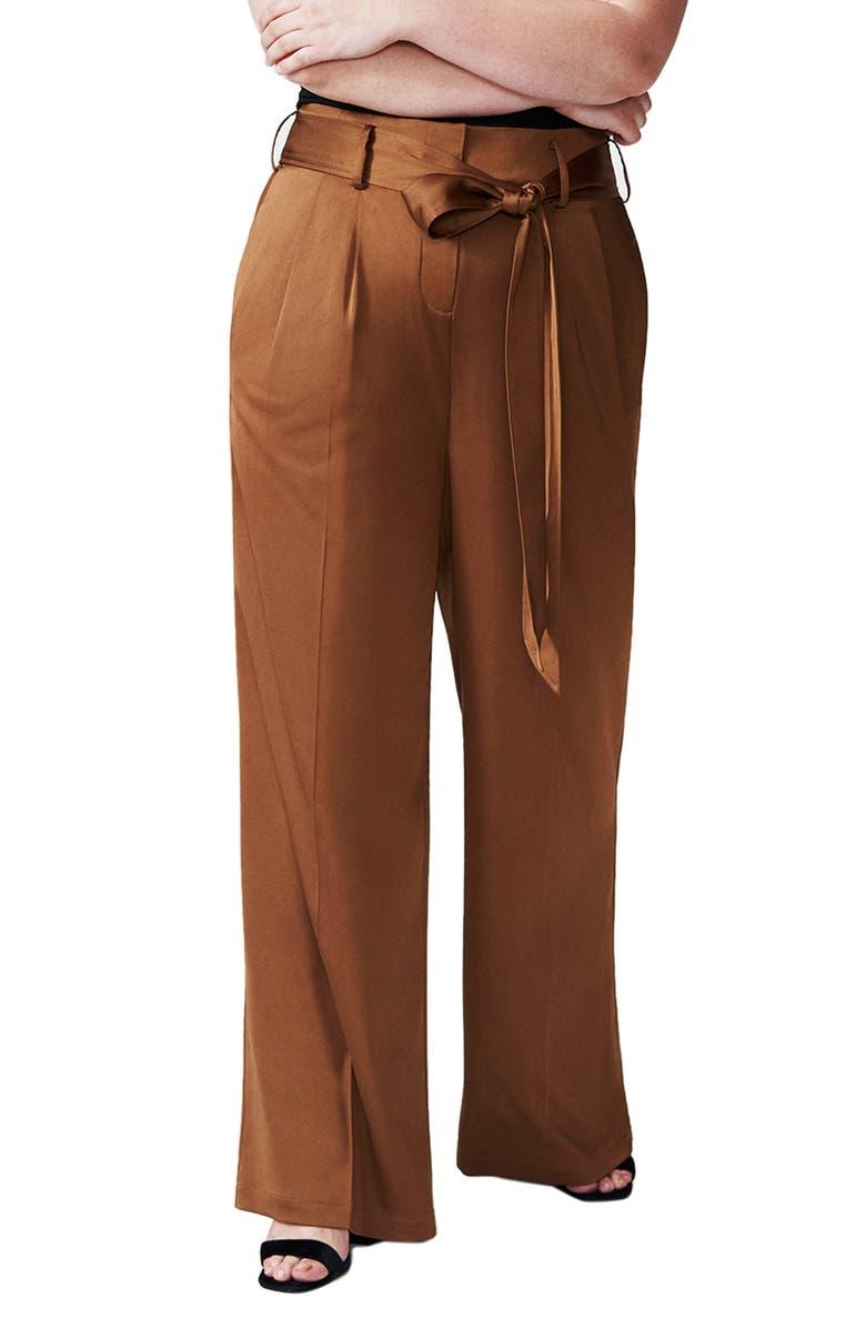 Universal Standard Tresa Wide Leg Pants (Regular & Plus Size ...