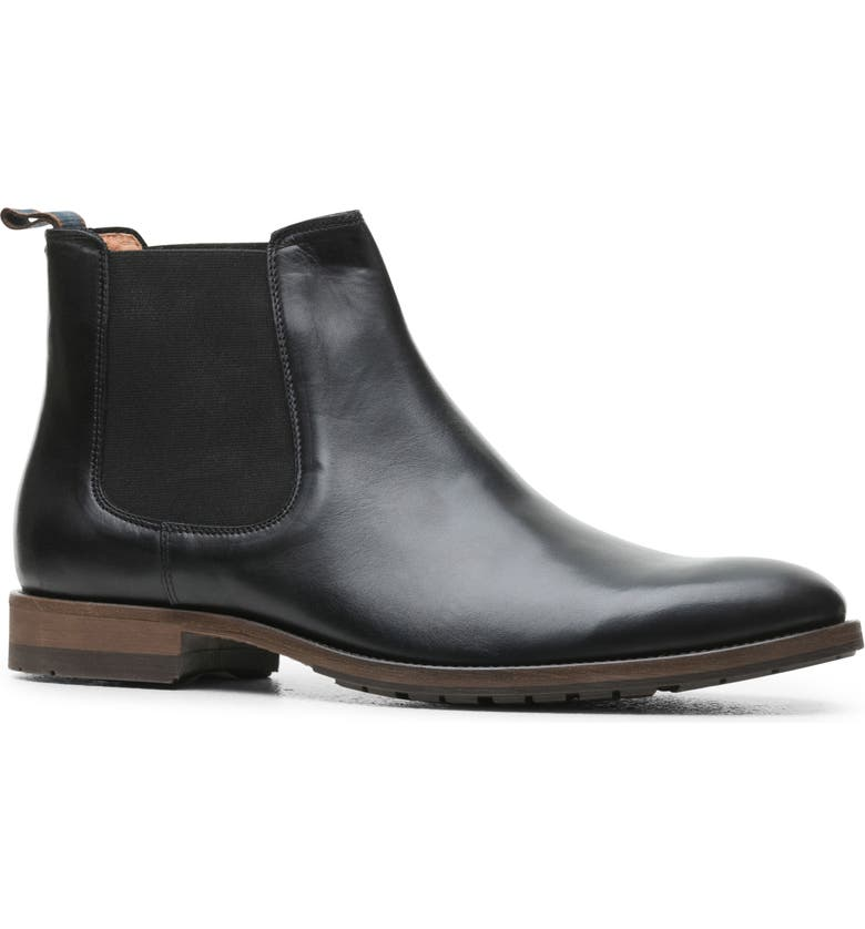 RODD & GUNN Murphy's Road Chelsea Boot, Main, color, 001
