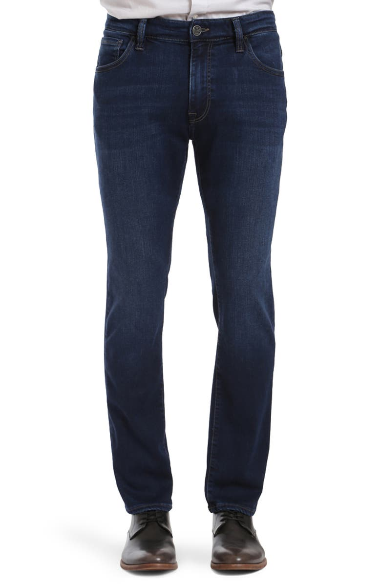 34 HERITAGE Cool Slim Straight Leg Jeans, Main, color, DARK ULTRA