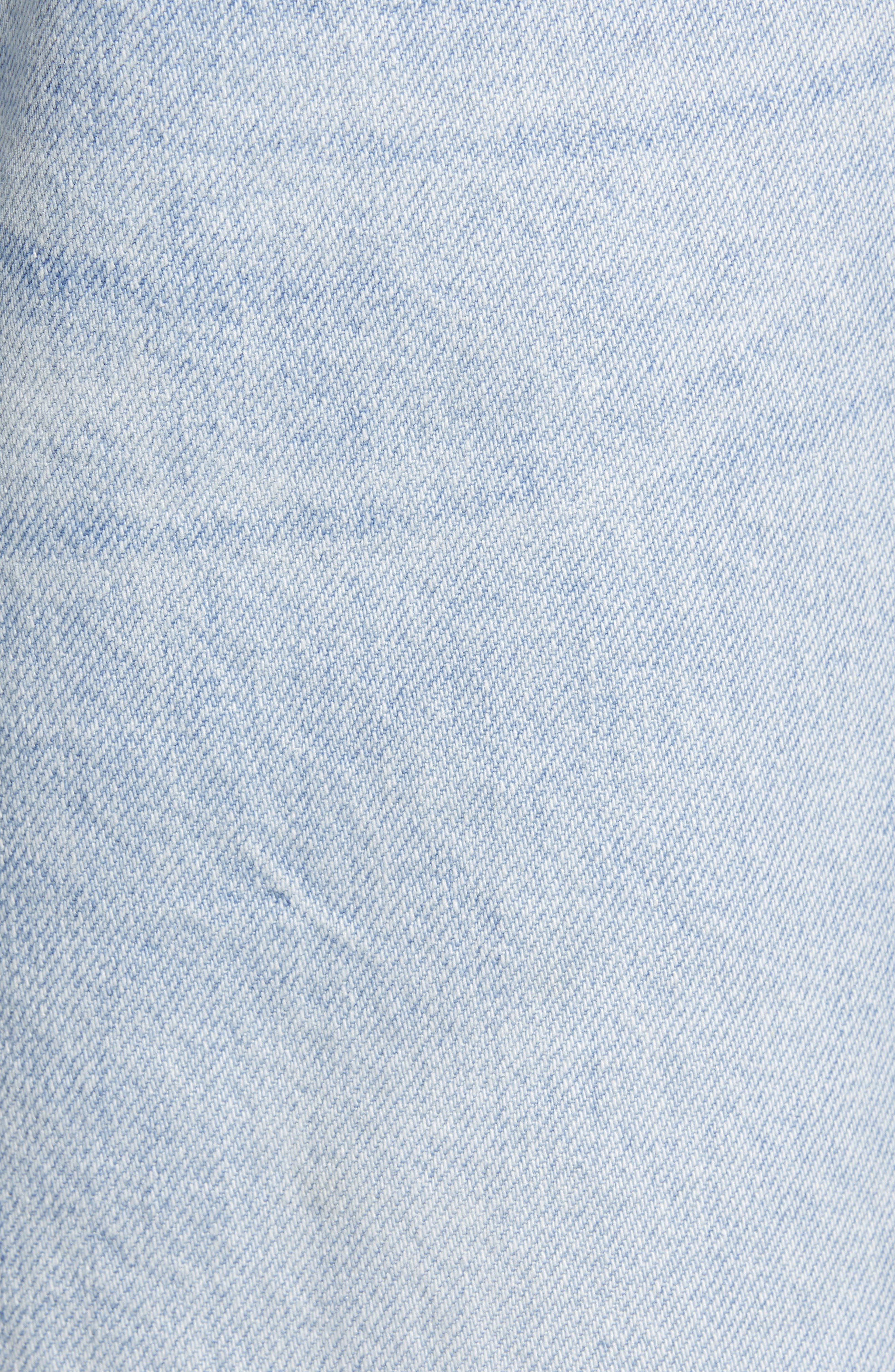 ,                             Hepburn High Waist Crop Wide Leg Jeans,                             Alternate thumbnail 6, color,                             429