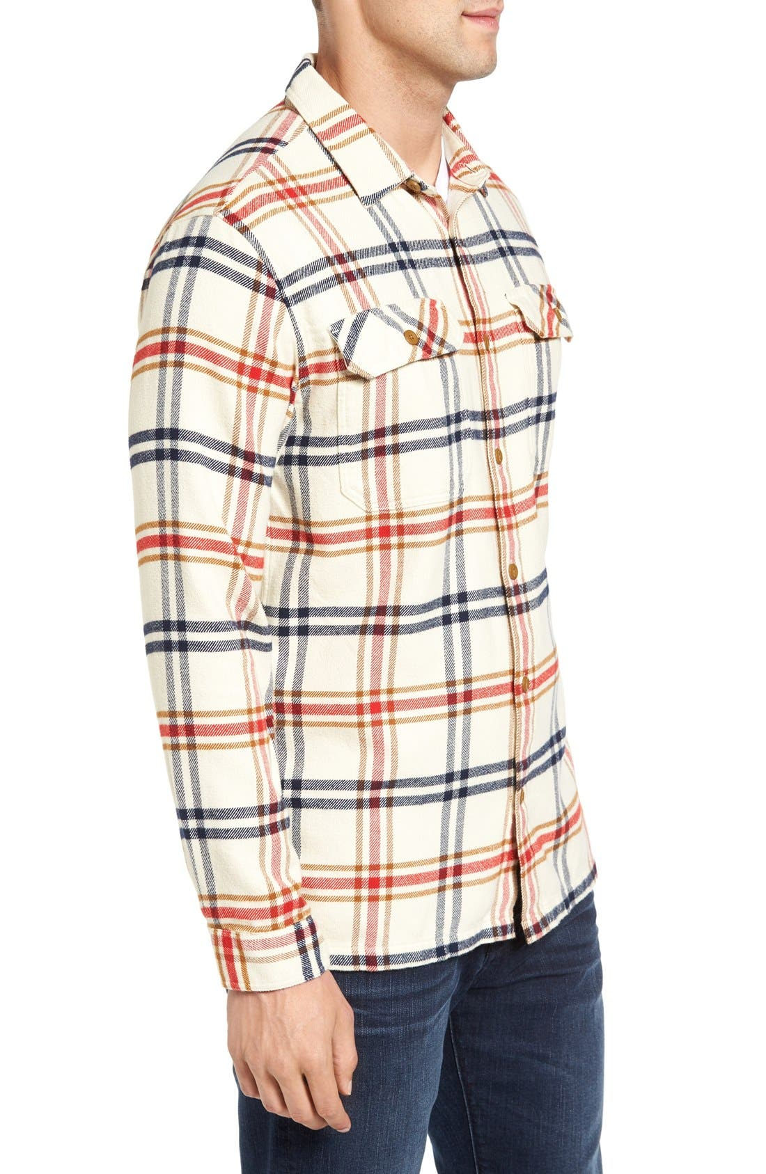 ,                             'Fjord' Regular Fit Organic Cotton Flannel Shirt,                             Main thumbnail 102, color,                             303
