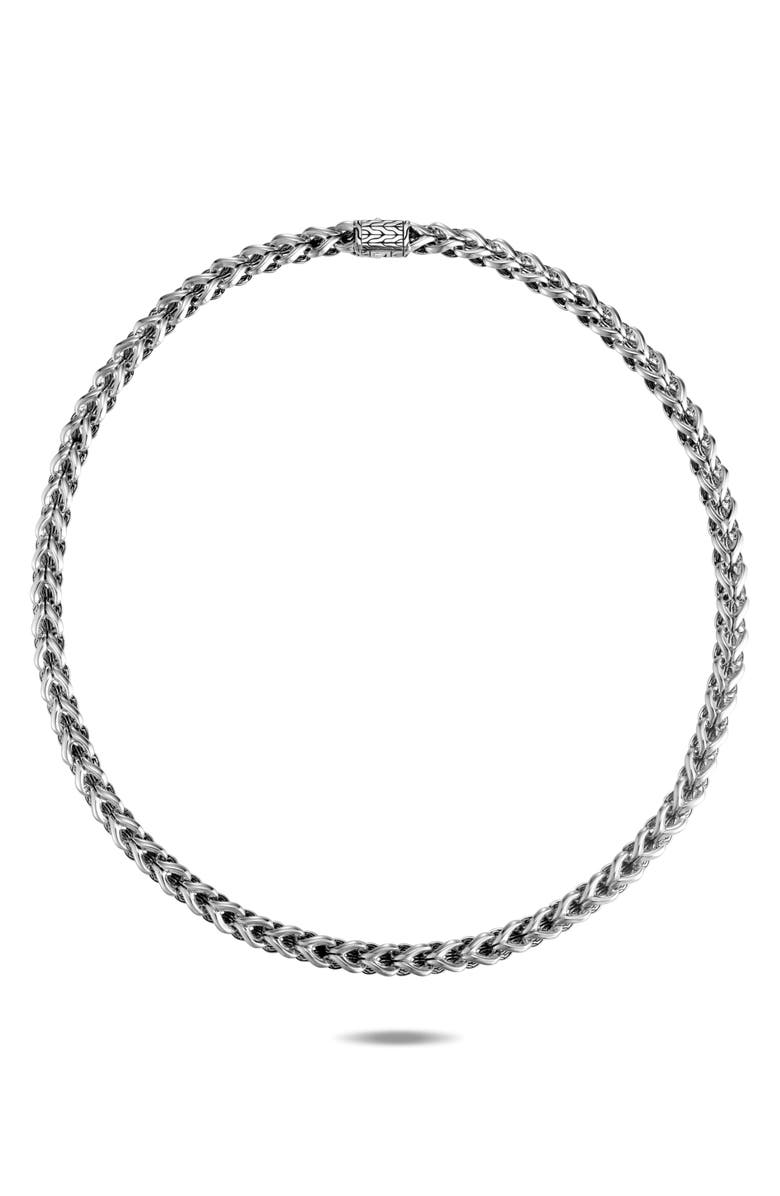 JOHN HARDY Asli Classic Chain Link Necklace, Main, color, SILVER