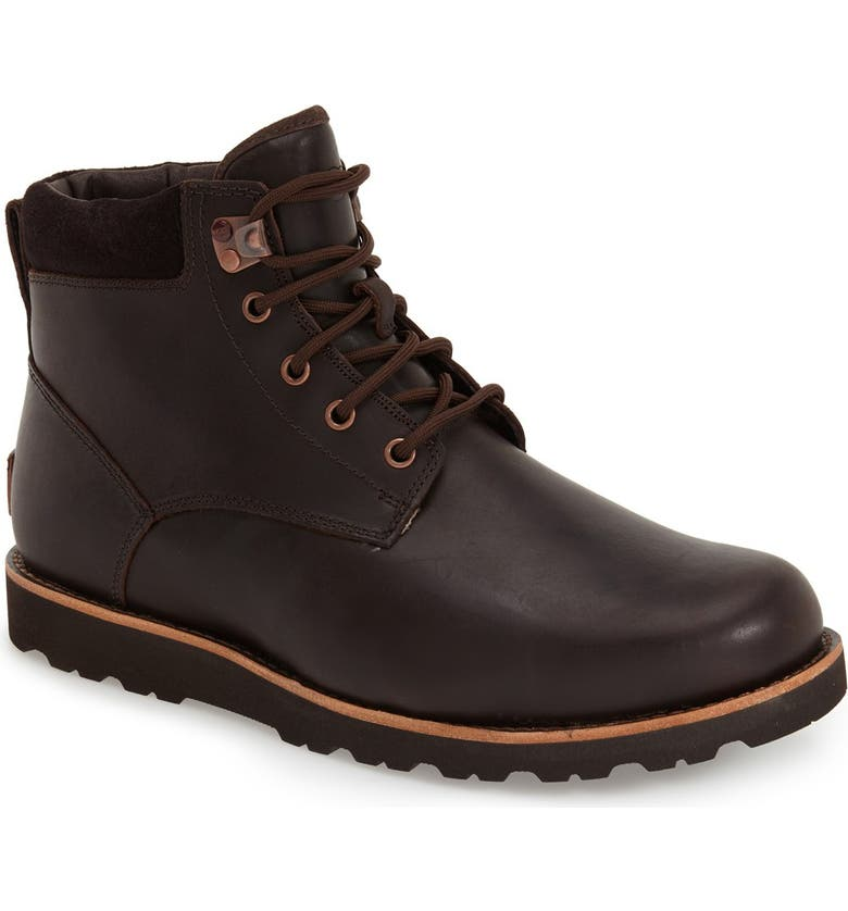 UGG<SUP>®</SUP> Seton Waterproof Chukka Boot, Main, color, STOUT