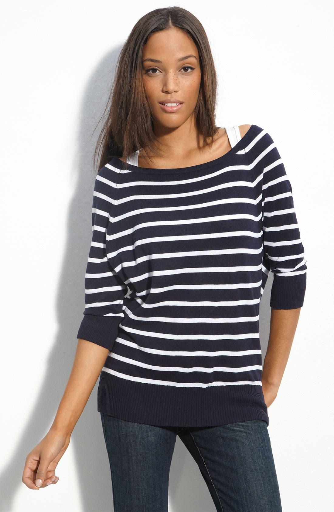 ,                             Stripe Sweater,                             Main thumbnail 2, color,                             401