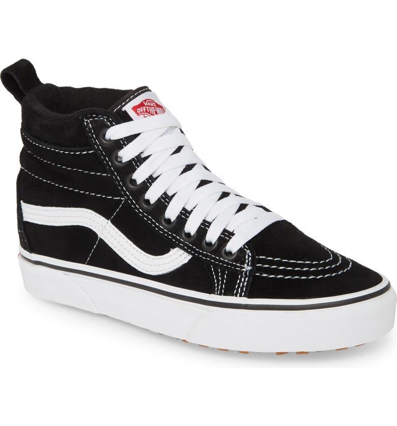 VANS Sk8-Hi MTE Weather Resistant High Top Sneaker, Main, color, 001