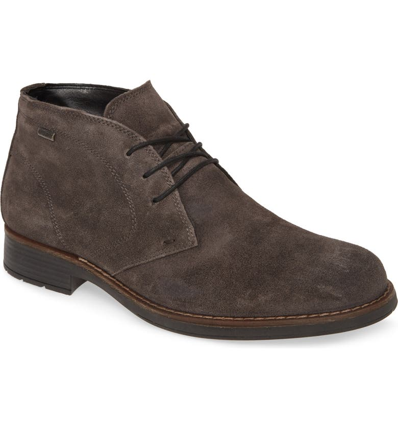 NORDSTROM MEN'S SHOP Grayson Waterproof Chukka Boot, Main, color, GREY SUEDE
