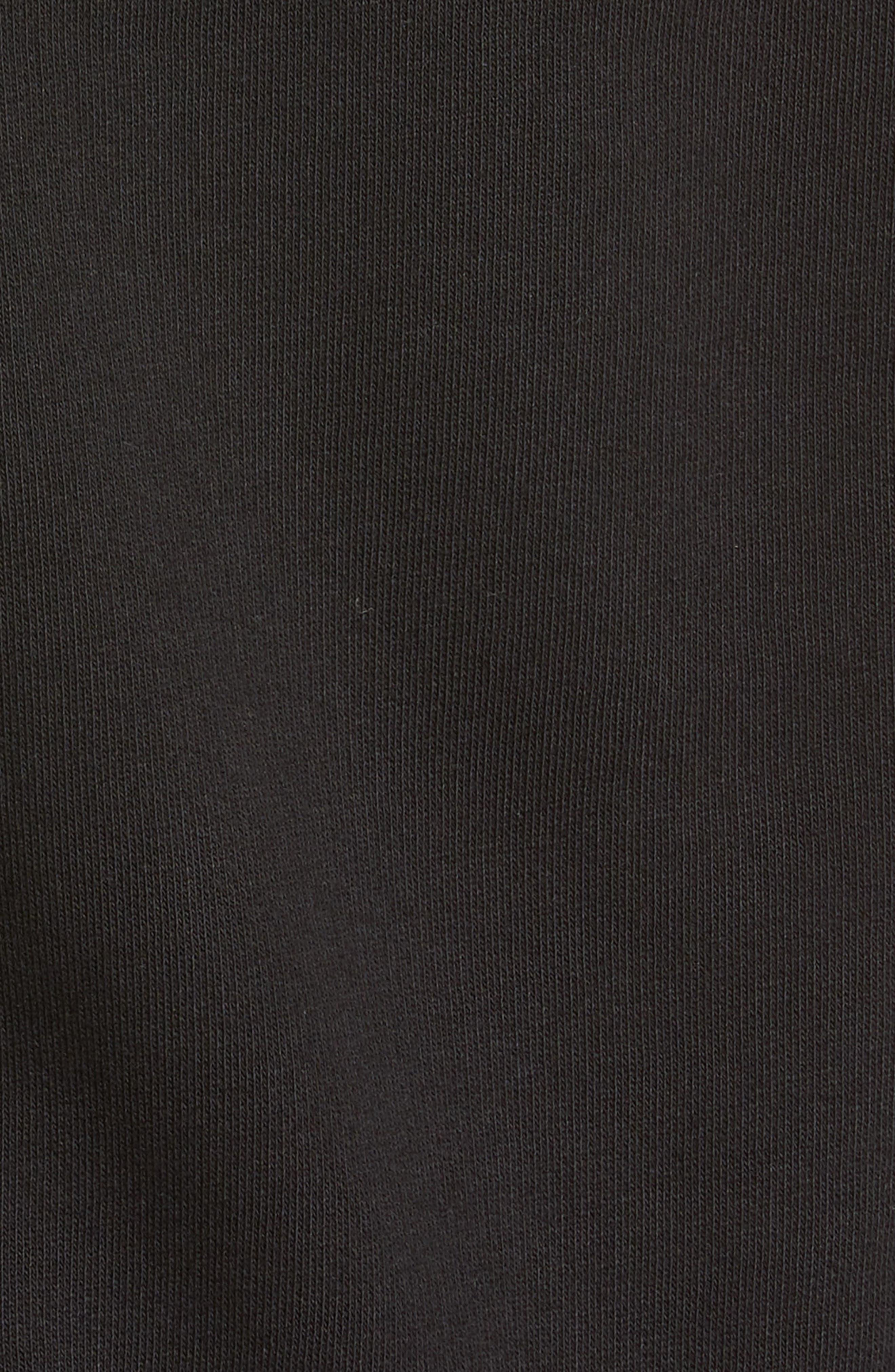 Vetements Tops President Graphic Crop Cotton Hoodie