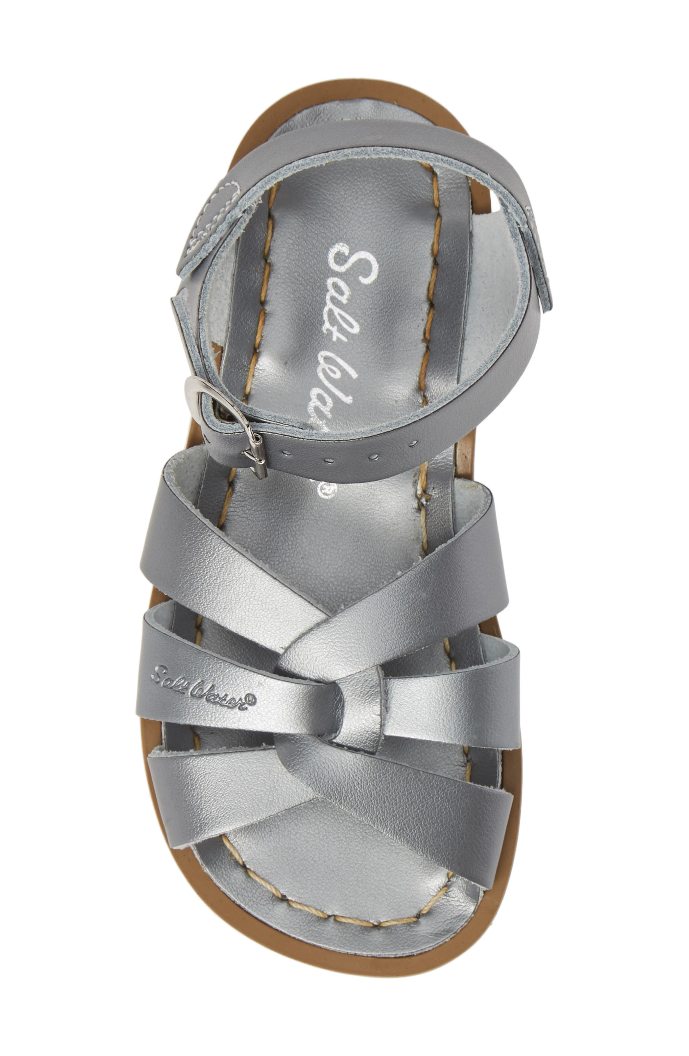 ,                             Water Friendly Sandal,                             Alternate thumbnail 5, color,                             PEWTER