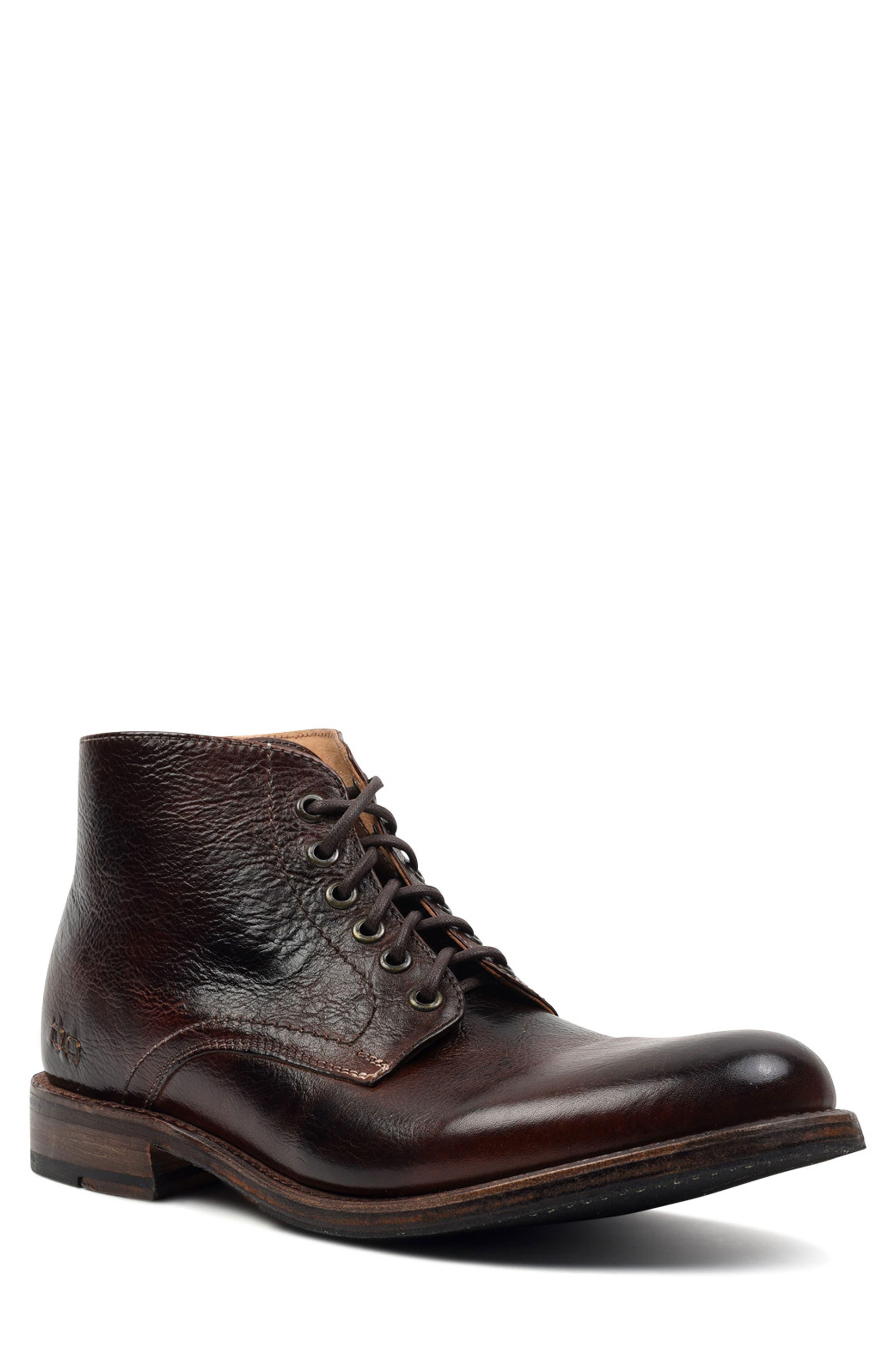 Bradley Plain Toe Boot