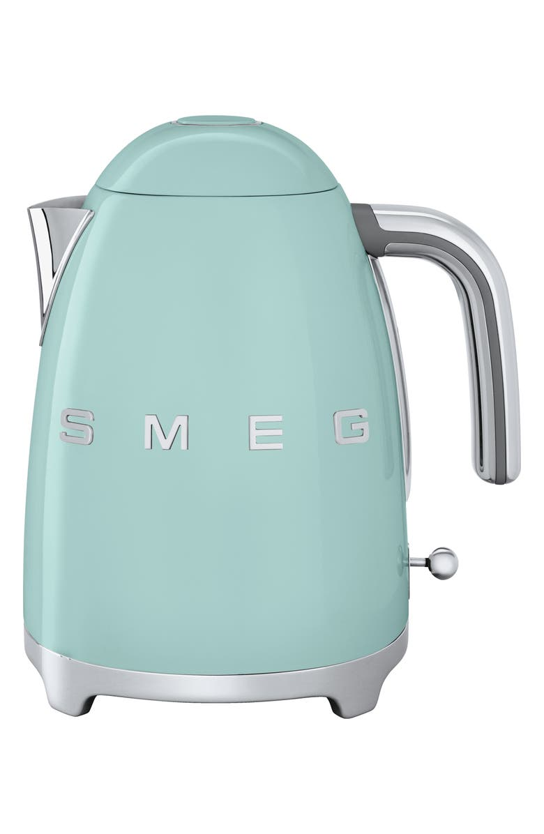 SMEG '50s Retro Style Electric Kettle, Main, color, PASTEL GREEN
