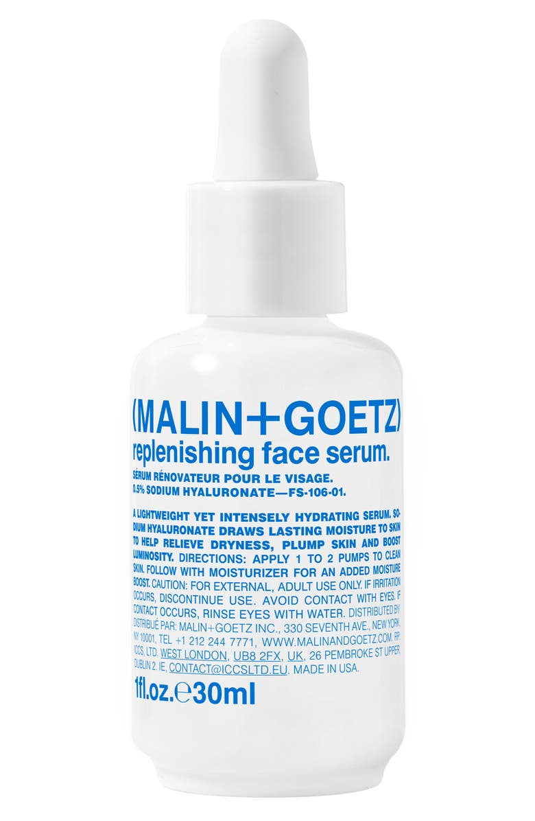 MALIN+GOETZ Malin + Goetz Replenishing Face Serum, Main, color, NO COLOR